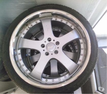 Photos Vivastreet pneus sur jantes 20'' Mercedes CLS