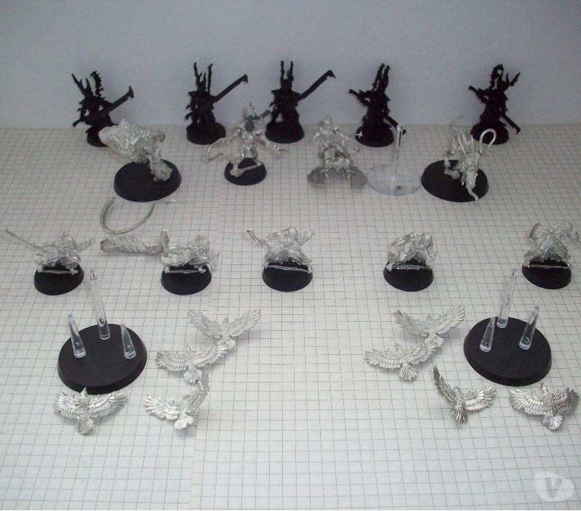 Collections Mouscron Mouscron - 7700 - Photos Vivastreet Lot de Dark EldarsEldars Noirs OOP en métal pour Warhammer