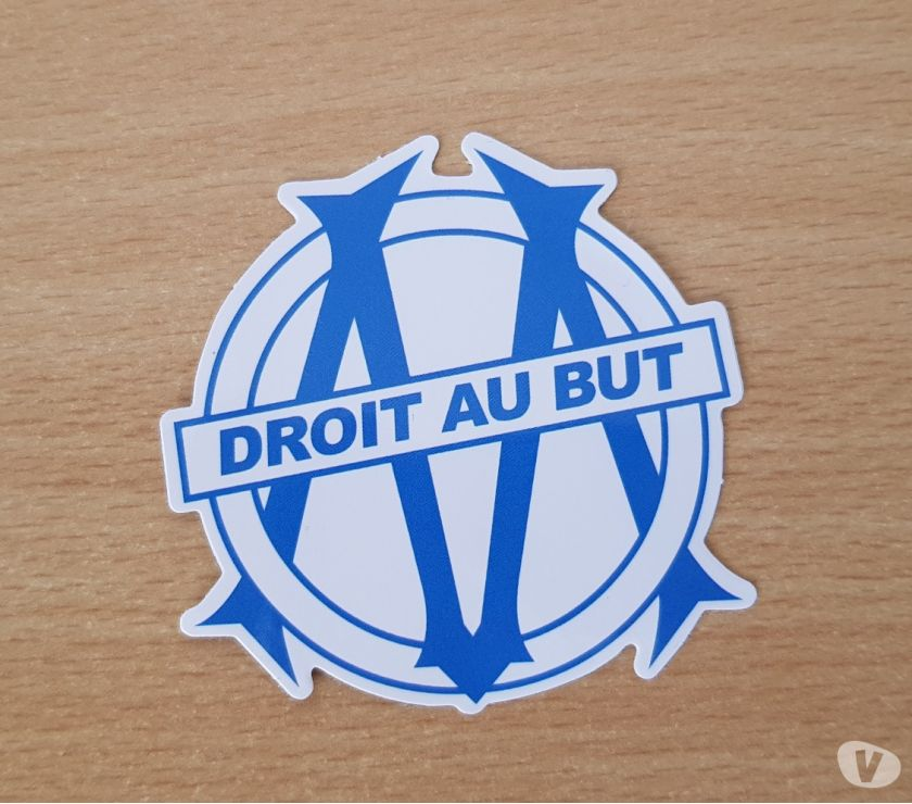 Photos Vivastreet Autocollant sticker olympique de marseille Football club