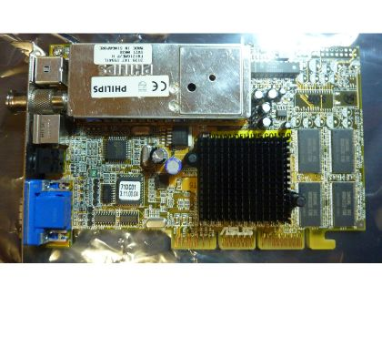 Photos Vivastreet Asus V7100 Deluxe Combo nVidia GeForce2 MX 32MB AGP TV tuner