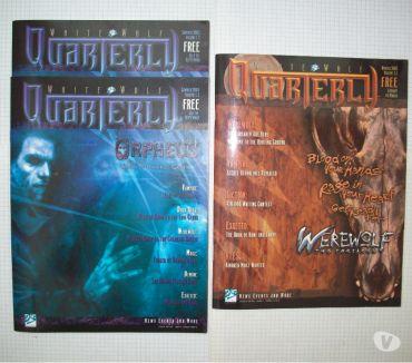 Photos Vivastreet Magazine de jdr-rpg en anglais White Wolf Quarterly Insider