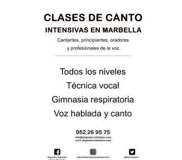 Fotos de Clases de canto On line. Técnica vocal. Curso 2020