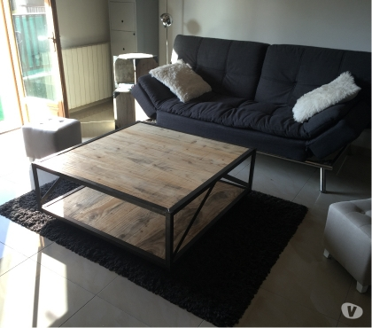Photos Vivastreet table basse style industriel