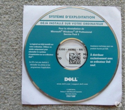 Photos Vivastreet CD DELL Windows XP