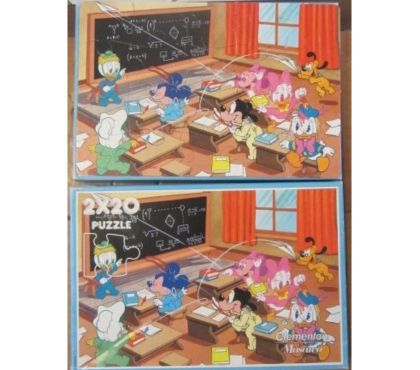 Photos Vivastreet Puzzles Mickey & Donald Belle & le clochard Engie Bengy