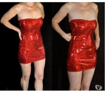 Photos Vivastreet Robe rouge sexy sequin