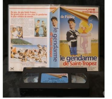 Photos Vivastreet K7 VHS secam film LE GENDARME DE SAINT-TROPEZ 94 mn couleur