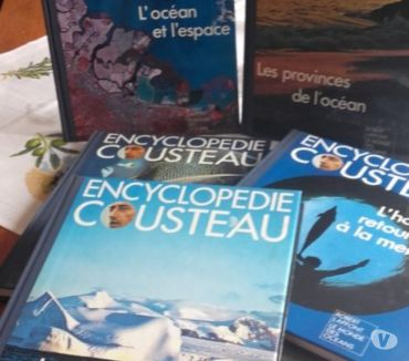 Photos Vivastreet ENCYCLOPEDIE COUSTEAU 20 VOLUMES