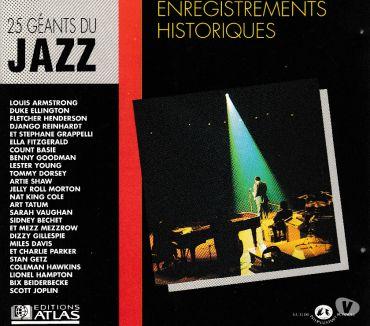 Photos Vivastreet CD 25 Géants Du Jazz: Enregistrements Historiques