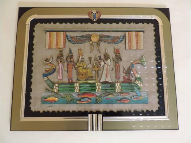 Décoration - art Hérault Sete - 34200 - Photos Vivastreet TABLEAU EGYPTIEN sous verre