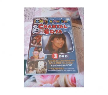Photos Vivastreet DVDs Chantal Goya Monde magique manga japon TV enfant