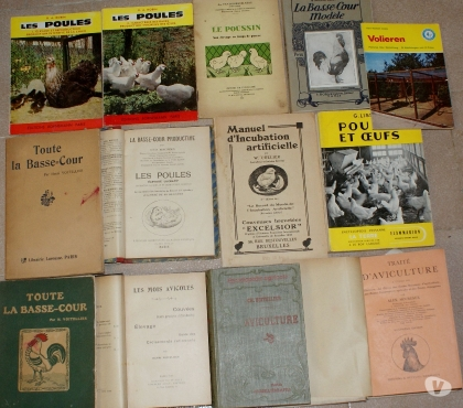 Photos Vivastreet 13 livres poules basse-cour