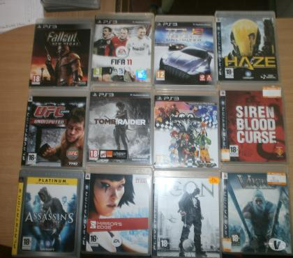 Photos Vivastreet jeux PS3
