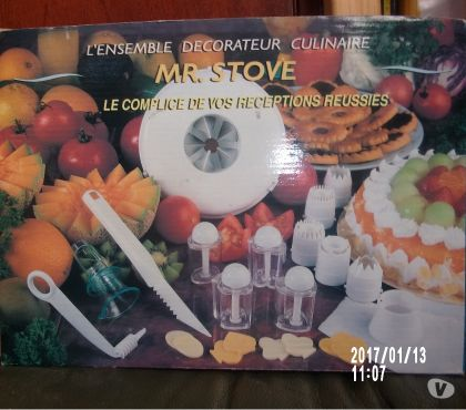 Photos Vivastreet Ensemble décorateur culinaire MR STOVE