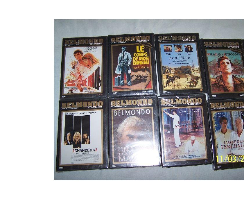 DVD occasion Hauts-de-Seine Issy les Moulineaux - 92130 - Photos Vivastreet 7 DVDS ANCIENS DE JEAN PAUL BELMONDO NEUFS
