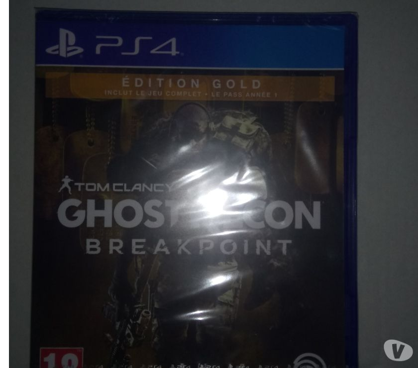 Photos Vivastreet Ghost Recon Breakpoint Edition Gold PS4 neuf