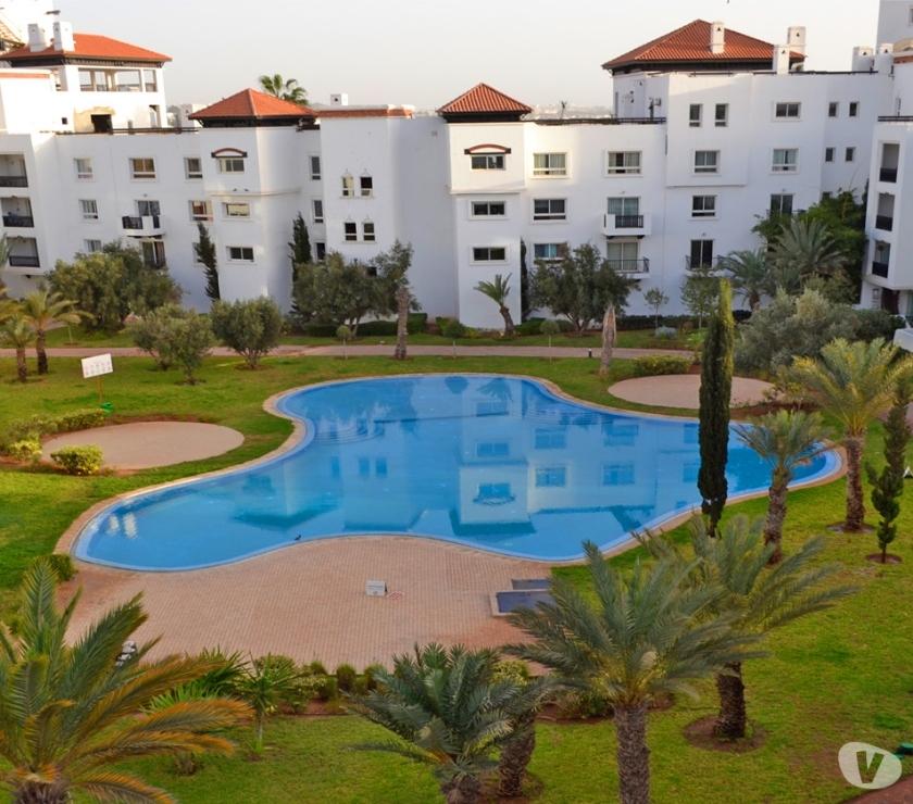 location saisonniere Maroc - Photos Vivastreet Location, appartement, meublé, à, marina,Agadir avec WI-FI