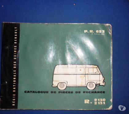 Photos Vivastreet Catalogues d'époque Renault Estafette et Galion 1959 à 1962
