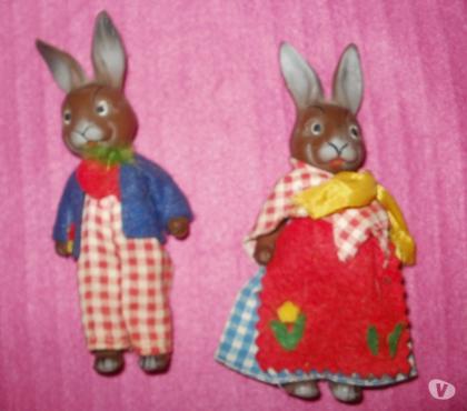 Photos Vivastreet 2 lapins vintage fabriqués en Allemagne estampillé