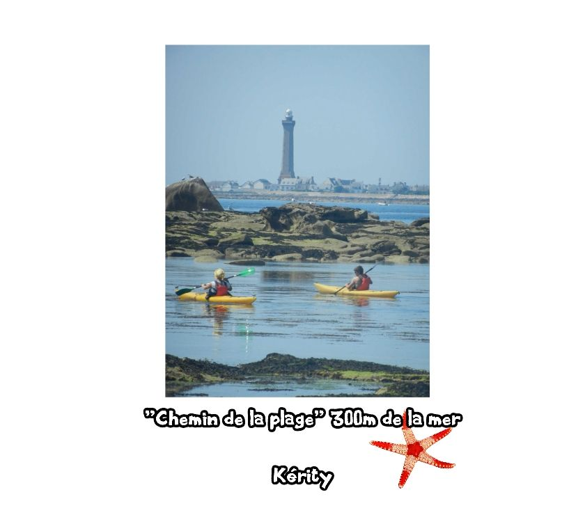 """Photos Vivastreet """"Chemin de la plage"""" 300m de la mer ~ Kérity ~ BRETAGNE"""