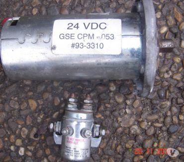 Photos Vivastreet relais de démarrage + moteur 24 volt