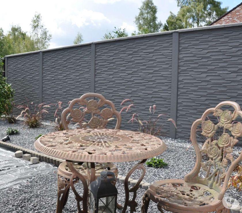 cloture beton deco noyon 60400 mat riel pas cher d. Black Bedroom Furniture Sets. Home Design Ideas