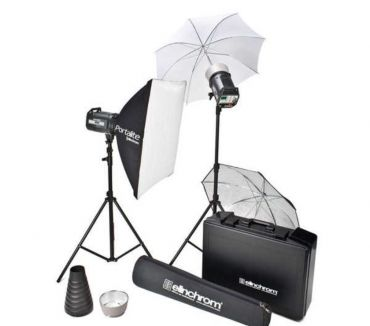 Photos Vivastreet Flash studio Elinchrom Kit Style 2 x 600 RX