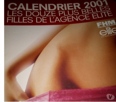 Photos Vivastreet calendrier fhm 2001