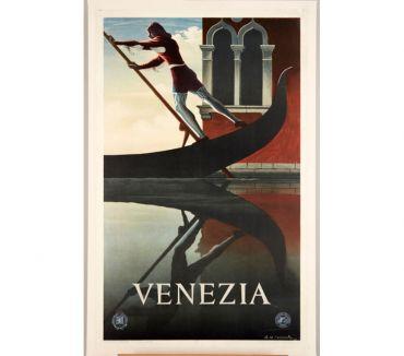 Photos Vivastreet Cassandre, affiche Venezia 1951