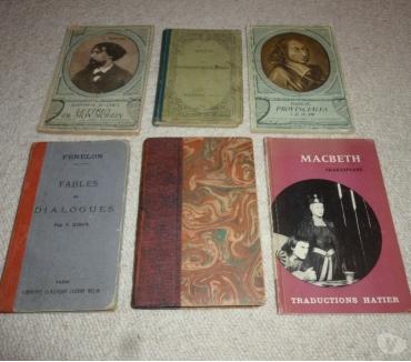 Photos Vivastreet 6 romans etou pièces de théâtre classiques