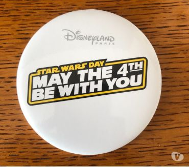 Photos Vivastreet Badge Stars Wars Day May The 4th Be With you 2019