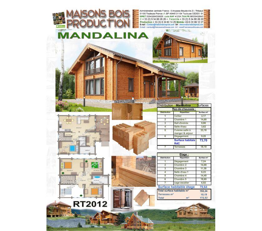 Photos Vivastreet Belle maisons en madrier massif RT2012 (Mandoline)