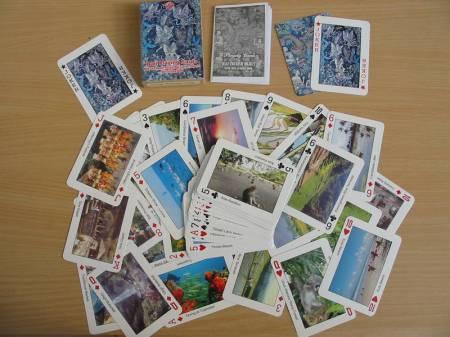 Photos Vivastreet Ravissant jeux de 54 cartes à jouer sur BALI