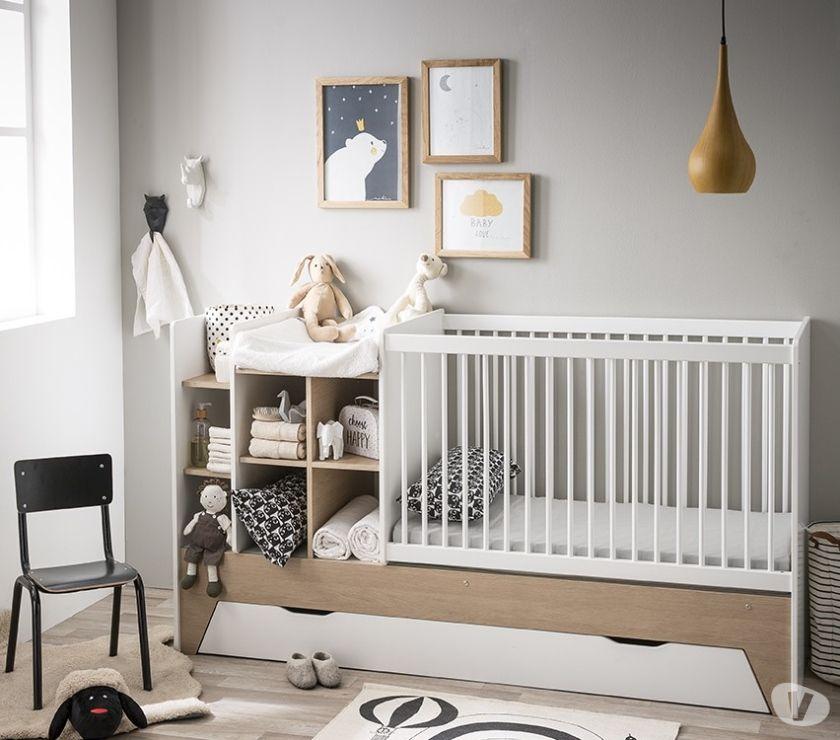 Photos Vivastreet Lit bébé combiné évolutif Baptiste & Amélie