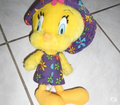 Photos Vivastreet Adorable PELUCHE TITI fille 30 cm chapeauté TBE