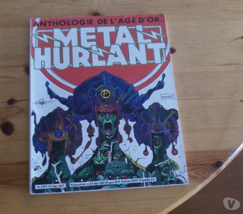 Photos Vivastreet Metal Hurlant N° 57 Bis - Anthologie De L'age D'or
