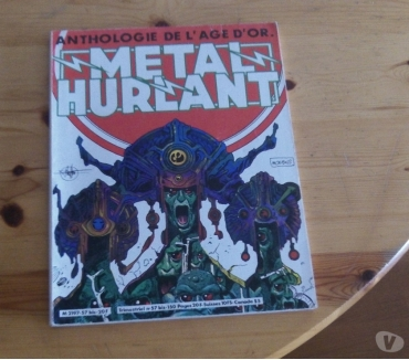 Photos Vivastreet Metal Hurlant N° 57 Bis - Anthologie De L'age D'or