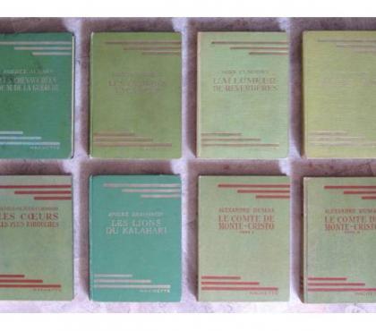 Photos Vivastreet 23 Livres anciens de la Bibliothèque Verte Hachette
