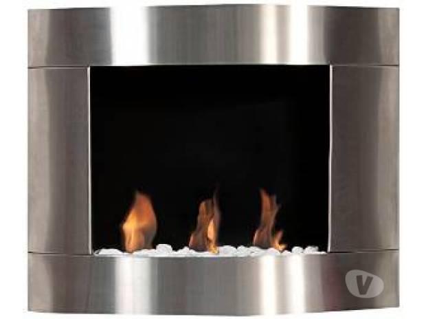 Photos Vivastreet Cheminée Bioéthanol I Inox , 3 brûleurs cylindriques