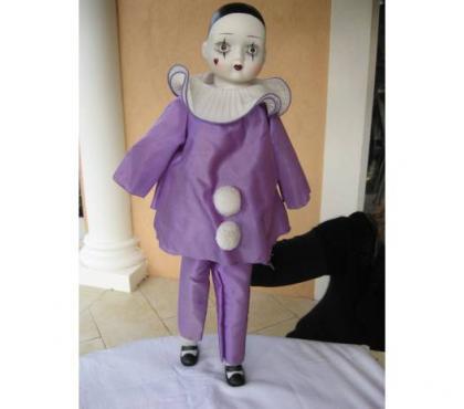 Photos Vivastreet Pierrot violet en porcelaine n° 2 - jpm06