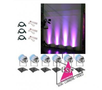 Photos Vivastreet Location PACK DECO 02 - Pour une salle de 80/150 personnes.