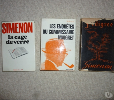 Photos Vivastreet 3 romans de Georges Simenon
