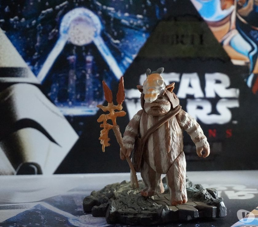 Photos Vivastreet figurine star wars ewok logray