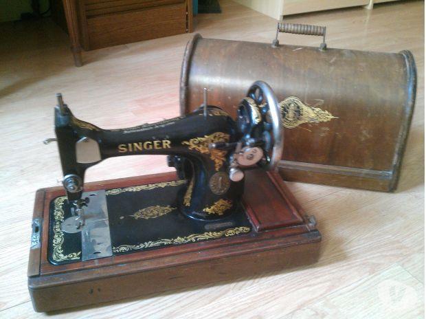 machine a coudre portable singer de 1914 orbais l 39 abbaye. Black Bedroom Furniture Sets. Home Design Ideas