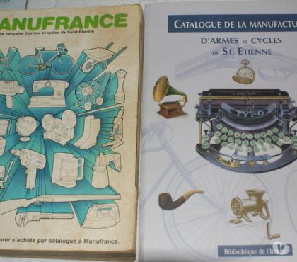 Photos Vivastreet manufrance réédition du catalogue de 1928 réédité en 1997 :