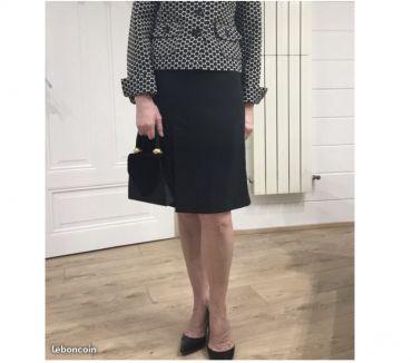 Photos Vivastreet Très belle jupe noire de la marque 1 2 3 taille 36