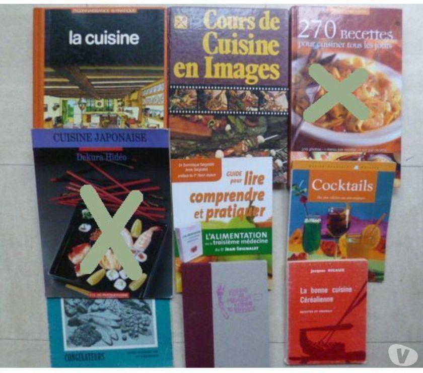 Photos Vivastreet livres de cuisine, déco, artisanat, ...