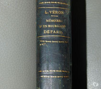 Photos Vivastreet LIVRE RARE : MEMOIRES D'UN BOURGEOIS DE PARIS 1853