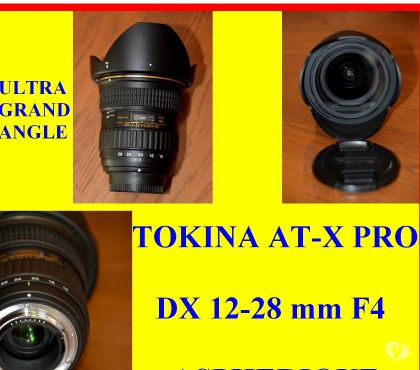 Photos Vivastreet ULTRA GD ANGLE TOKINA AT-X PRO DX 12-28 mm F4 ASPH. - TBE