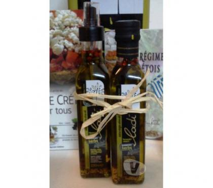 Photos Vivastreet 1 Boutl.Verre 0,250L Huile d'Olive Botania + 1 Spray 2015
